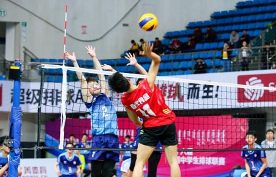 中国中学生排球联赛内蒙古落幕 文昌中学获亚军
