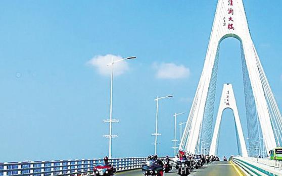 第二届文昌国际机车旅游节发车 全国200名骑手乐游文昌